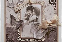 Vintage & Chabby chic cards