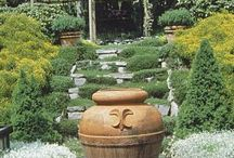 Decorating with Potted Plants / Bring life to your outdoor oasis with container gardening.