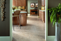 Duraceramic Tile by Congoleum / We offer Congoleum's entire collection of DuraCeramic luxury vinyl tile flooring with Scotchgard© and and built-in antibacterial protection. These easy to clean vinyl tile floors are extremely durable and are so beautiful your friends and neighbors will be jealous.