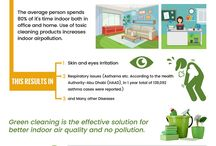 Green cleaning services in Dubai