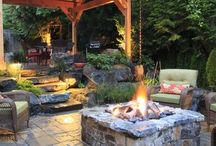 Decks & Fire pits / by Kathleen Ivan