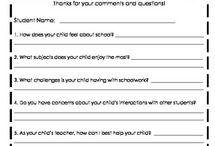 Parent teacher conference/open house