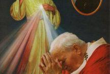 Jan Pavel II. papež míru a přátelství, v rozbouřených vodách lidstva.