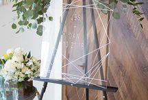 Wedding - welcome ideas