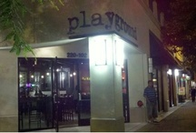 The Playground, Santa Ana / A brilliant restaurant located in downtown Santa Ana, CA, owned by the talented Chef Jason Quinn on the corner of 4th & Spurgeon. Follow on twitter @PlaygroundDTSA or playgroundDTSA.com