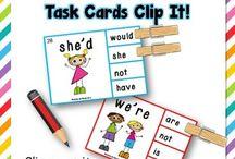 Grammar Task Cards / by iteach
