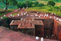 Churches out of rock, Ethiopia