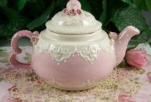 Tea Pots, Tea Cups and Accessories