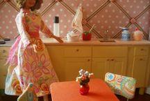Sit Barbie furniture
