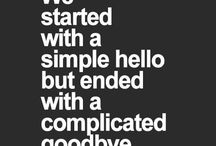 goodbyes that never said