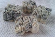 Goat Milk Soap. Rose Bouquet