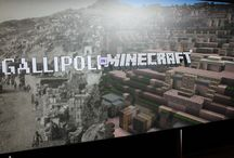 Gallipoli in Minecraft / Photos from the launch of Gallipoli in Mincreaft exhibition at Auckland War Memorial Museum - created by students at Alfriston College.