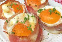 rellenos y huevos