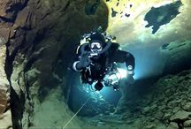 diving in the Slovak opal mines