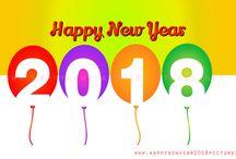 New year 2018 dp