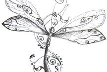 Tatuaże z ważkami