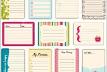 Pocket Scrapbooking printables