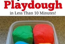 Play dough & Flubber