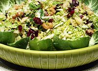 Apple to Zucchini: Not your average salad... / Healthy salads