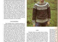 KNITTING MAGAZINES / Knitting books & magazines