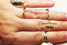 Midi Ring, Knuckle Ring, Stacking Rings. Ultra Thin Geometric Ring. Delicate Ring.