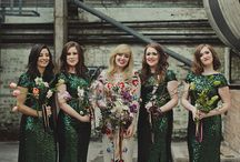 g r e e n  w e d d i n g s / a collection of swoon-worthy weddings with green color palettes.