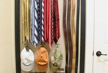 closet ideas / by Kimberly K