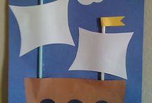 Víz, hajó, halak