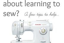 Sewing for beginners / Tips, tutorials and really easy starter projects for sewing beginners