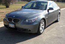 Used 2007 BMW 530i for Sale ($16,500) at Rochester , MN / Make:  BMW, Model:  530i, Year:  2007, Exterior Color: Gray, Interior Color: Black, Doors: Four Door, Vehicle Condition: Very Good,    Mileage:120,000 mi, Transmission: Automatic.   Contact:507-280-8507  Car Id (56110)