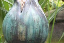 Ceramic garden jewelry