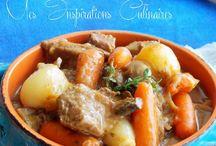 plat de viandes en sauces / plat de viandes en sauces