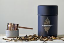 Tins / Tea in the City branding across our signature storage tins and refill pouches