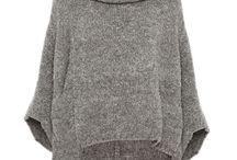 Ponchos sweter