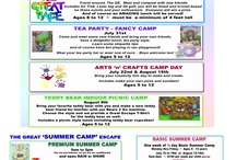 Summer Camp at The Great Escape in Langley BC