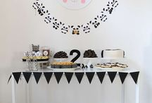 KIDS: Little girl panda birthday