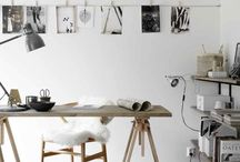 DIY | Home Office / Find lots of DIY ideas to enhance your home office with beautiful DIY accessories, furniture, notebooks,  and more.