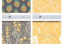 Meine eigene Stoffkollektion für den Sommer - www.stoff.love / Meine Sammlung an Sommerstoffen, die ich selber bei www.stoff.love gestaltet habe und für das ein oder andere Nähprojekt einplane.