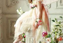 bridesmaids/ flower girl