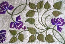 Free Quilt Patterns / Each month I offer a free quilt Block of the Month pattern. I'm an original designer who loves applique and florals.