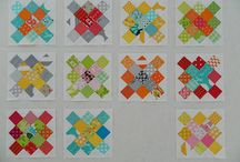 Granny square blocks
