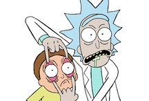 Rick and Morty / Wubba lubba dub dub!