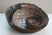 PAPER BOWLS / always wanted to make some paper bowls / by Claudia Lee