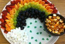St.Patricks Day food, crafts& fun