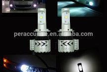 High Brightness Daytime Running LightLED fog lamp Waterproof LED IP65 H7 led COB 36W Headlight