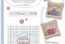 Christmas & new year (crochet, cross stitch ....) / by Anahit Karakhanyan