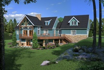 Timber Frame Renderings / by Woodhouse Timber Frame