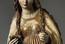 Religieuze kunst, vooral Annunciaties