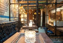 the 'WC' wine & charcuterie / A former Victorian gents toilet up-cycled and turned into a trendy wine & charcuterie bar
