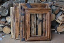 Dřevěné fotorámečky